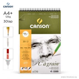 canson cagrain papir a4plus 30lap 125g rs finom