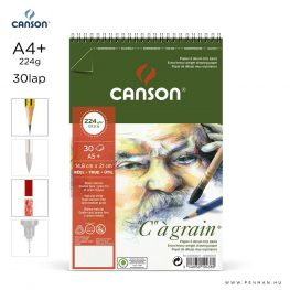 canson cagrain papir a4plus 30lap 224g rs finom