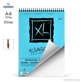 canson xl aquarelle papir a4 30lap 300g rs finom lap