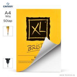 canson xl bristol papir a4 50lap 180g rr sima lap