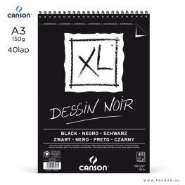 canson xl dessin noir a3 rs