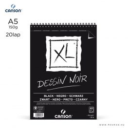 canson xl dessin noir a5 rs
