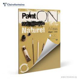 clairefontaine paint on naturel A4 rr lap penman
