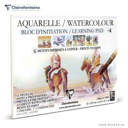 clairefontaine watercolour learning pad no4 penman