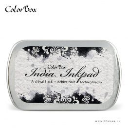 colorbox inkpad india black