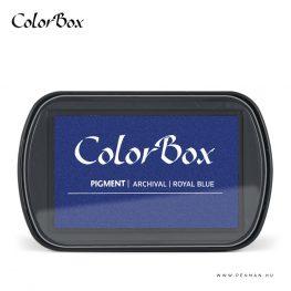 colorbox inkpad royal blue