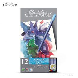 cretacolor akvarellceruza keszlet 12