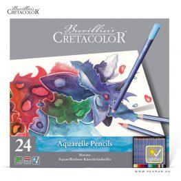 cretacolor akvarellceruza keszlet 24