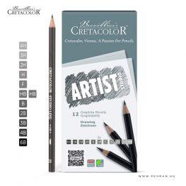 cretacolor artist studio 12 grafitceruza
