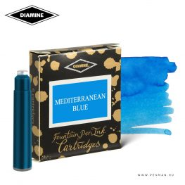 diamine tintapatron mediterranean blue 6db 001