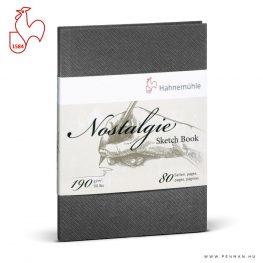 hahnemuhle nostalgie skicc konyv 190g a4 gh