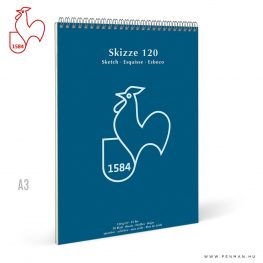 hahnemuhle skizze papir tomb 120g a3 rs
