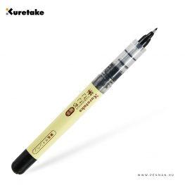 kuretake fudegokochi ecsetfilc fekete fine 002