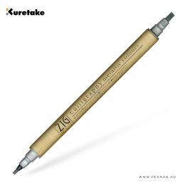 kuretake zig calligraphy silver 001