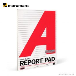 maruman report pad A4 lined 40lap penman