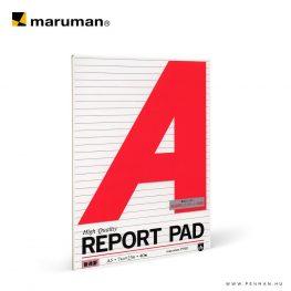 maruman report pad A5 lined 40lap penman