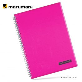 maruman septcouleur A4 N570 lined pink 80lapjpg