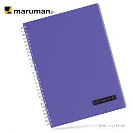 maruman septcouleur A4 N570 lined purple 80lap penman