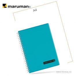 maruman septcouleur A5 N572 lined light blue 80lap penman