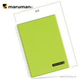 maruman septcouleur B5 N571 lined green 80lap penman