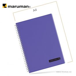 maruman septcouleur B5 N571 lined purple 80lap penman