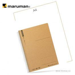 maruman spiral note A5 empty 80lap penman