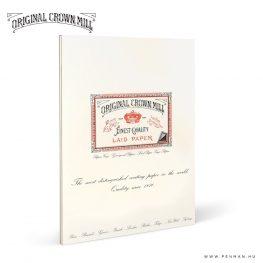 original crown mill A4 laid paper penman