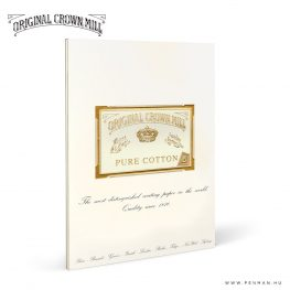 original crown mill A4 pure cotton paper penman