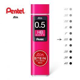 pentel ain stein 05 HB soft penman