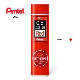 pentel ain stein HB piros 001