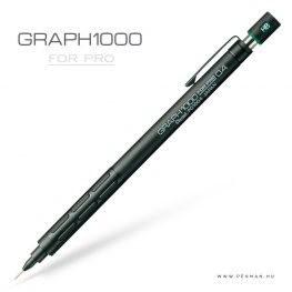 pentel graph1000 forpro 04 black penman