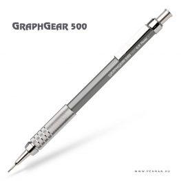 pentel graphgear500 09 grey penman