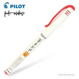 pilot fude makase extra fine ecsetfilc piros 001