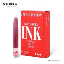 platinum preppy tintapatron piros 10db 1001