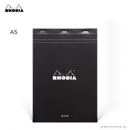 rhodia dotpad a5 ures fekete 001
