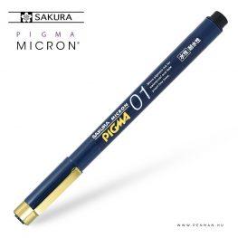 sakura pigma micron 01 fekete japan edition