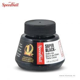 speedball tinta super black 01