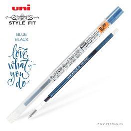 uni style fit 028 refill blue black