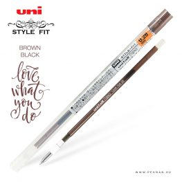 uni style fit 028 refill brown black