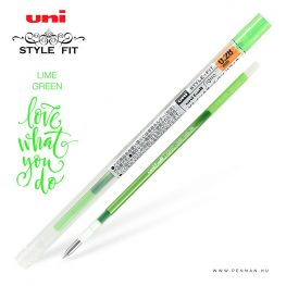 uni style fit 028 refill lime green