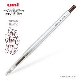uni style fit 038 single brown black