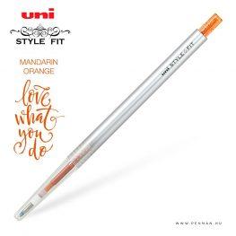 uni style fit 038 single mandarin orange