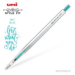 uni style fit 038 single sky blue