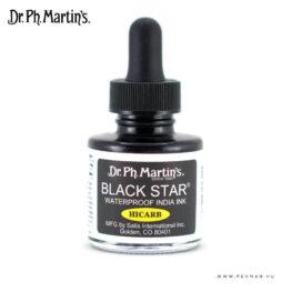 dr ph martins black star hicarb india ink 001