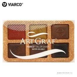 viarco earth tone tailor shape akvarell kreta 001