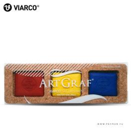 viarco primary colors tailor shape akvarell kreta 001